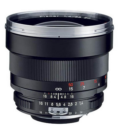 Carl Zeiss 85mm f/1.4 Planar T *