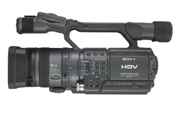 sony hdr fx1 profile