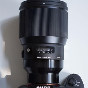 Sigma 85mm F1.4 DG HSM Art напрокат для Сони
