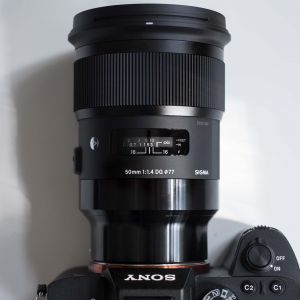Sigma 50mm art for Sony напрокат